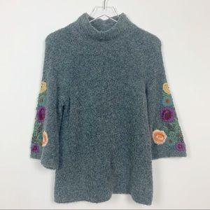 Anthropologie | Sleeping On Snow Rosevine Sweater